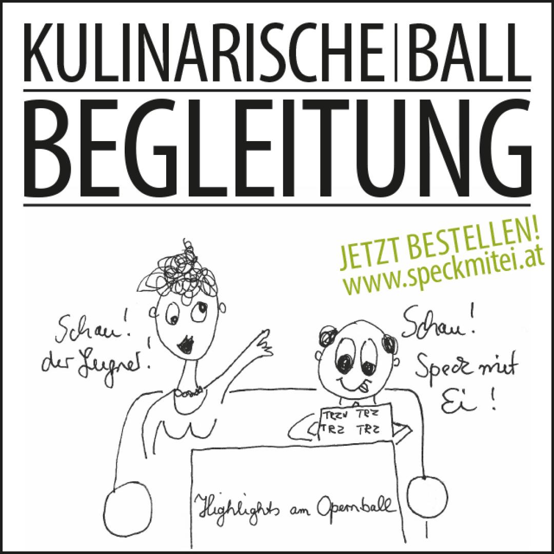 Kulinarische Ballbegleitung